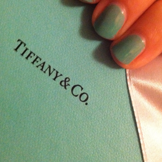 If you're looking for Tiffany blue nail polish, Essie's Turquoise and Caicos is a perfect match! MY NEW FAV: Makeup Nails, Blue Nails Polish, Blue Nail Polish, Tiffany Blue Nails