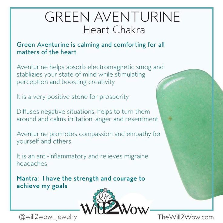 Green Aventurine Crystal Healing  Http://www.thewill2wow.com