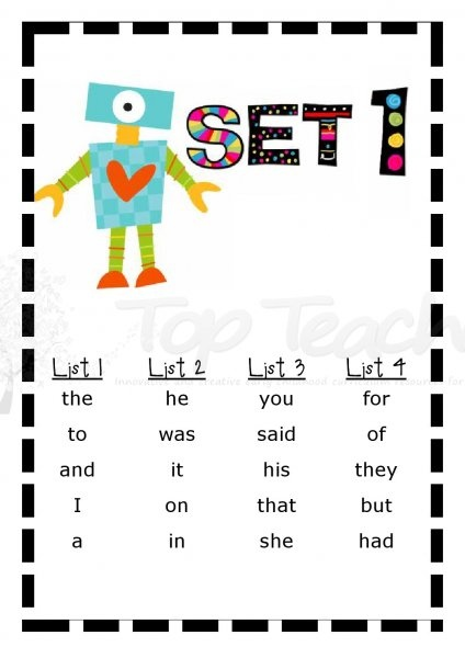 Wow! Complete sight word packages including take home lists, activities and flashcards. All Dolch words included within 11 sets. All the hard work is done for you! Amaaaaaazing!!!