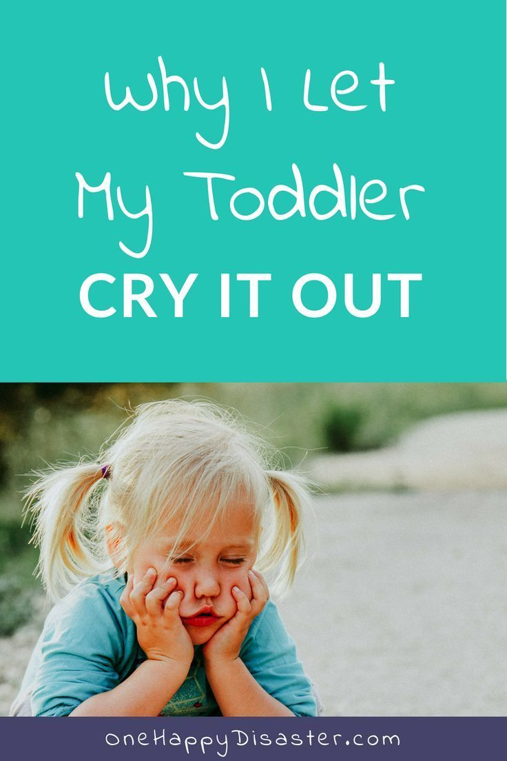 Why I Let My Toddler Cry It Out (Again   Wellness Bloggers Group