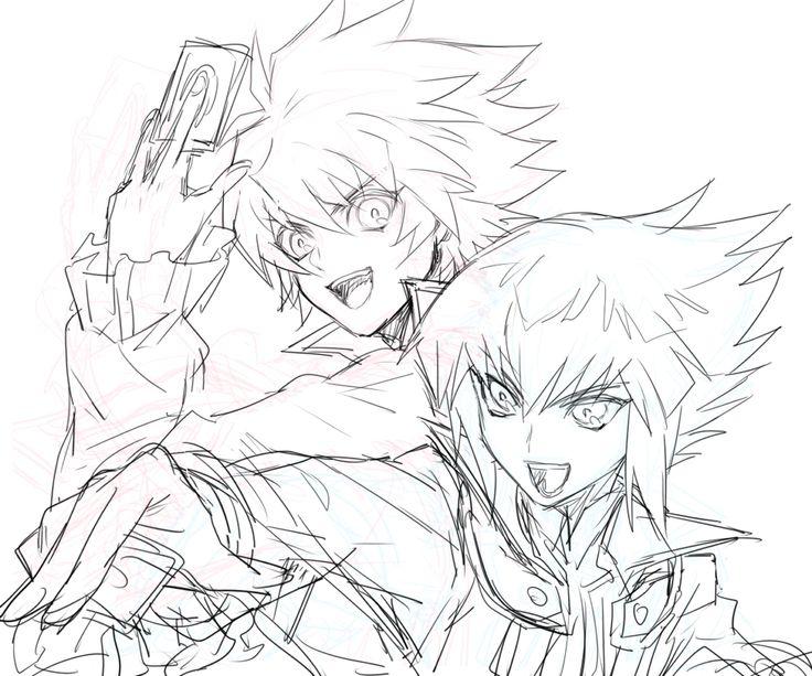 Yu-Gi-Oh! GX - Johan & Judai