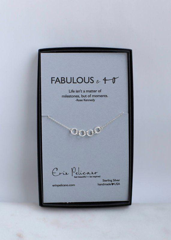 40th Birthday Gift For Her Gifts Women Inspirational Girlfriend 50th Bir