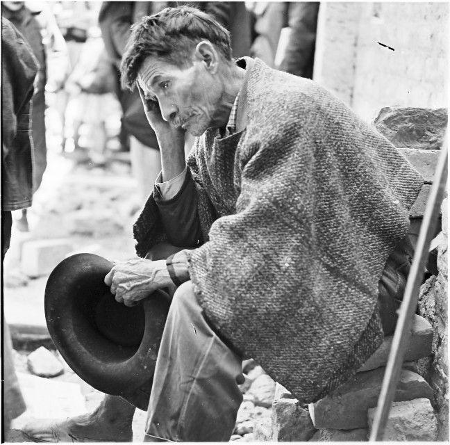 [Campesino] / Daniel Rodríguez / c.a. / 1940 / Colección Museo de Bogotá: MdB 16785 / Todos los derechos reservados