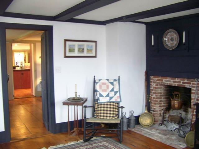 Cape Cod Interior: Fireplace