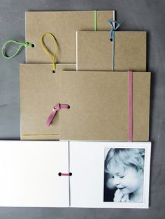 A DIY Brag Book would be a great last minute gift for grandma.