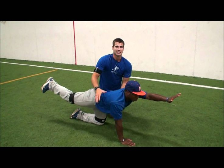 Baseball drills -  Core strength for  hitting and throwing