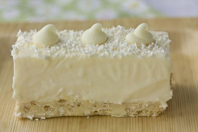 White Chocolate Rice Krispies Bars recipe