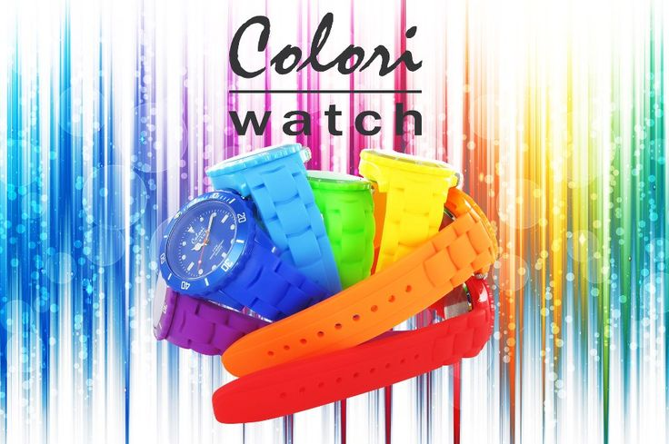Choose from the amazing range of colors by Colori watches brought to you by seconds2buy.