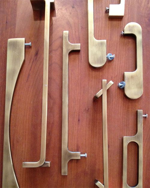 Brass Hardware For Kitchen Cabinets
