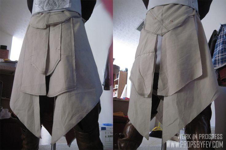 Fev Studios - - Ezio Cosplay project (Assassin's Creed: Brotherhood) - Tunic Construction