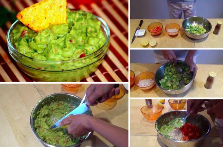 Faites votre guacamole maison