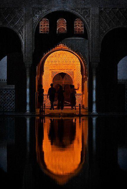 Salón del Trono, Palacio de Comares, Alhambra, Granada, Spain  Granada  Pin...