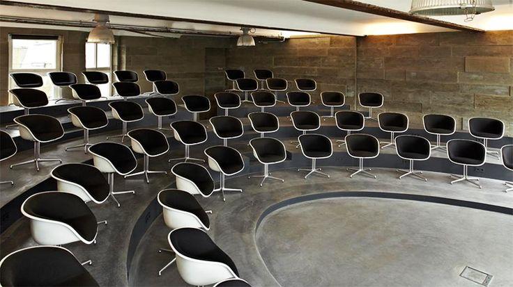 Design-Location mit Amphitheater an der Hamburger Alster: Circus Polaris