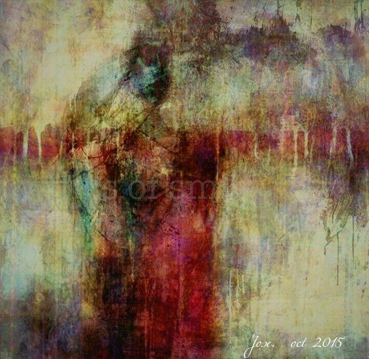 My paintings  Women in the cross series