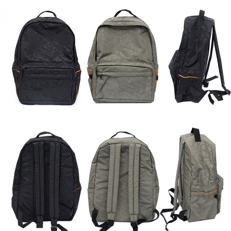 Korea Fashion Men Women Casual Gorilla Backpack School Travel Bag Black Gray New