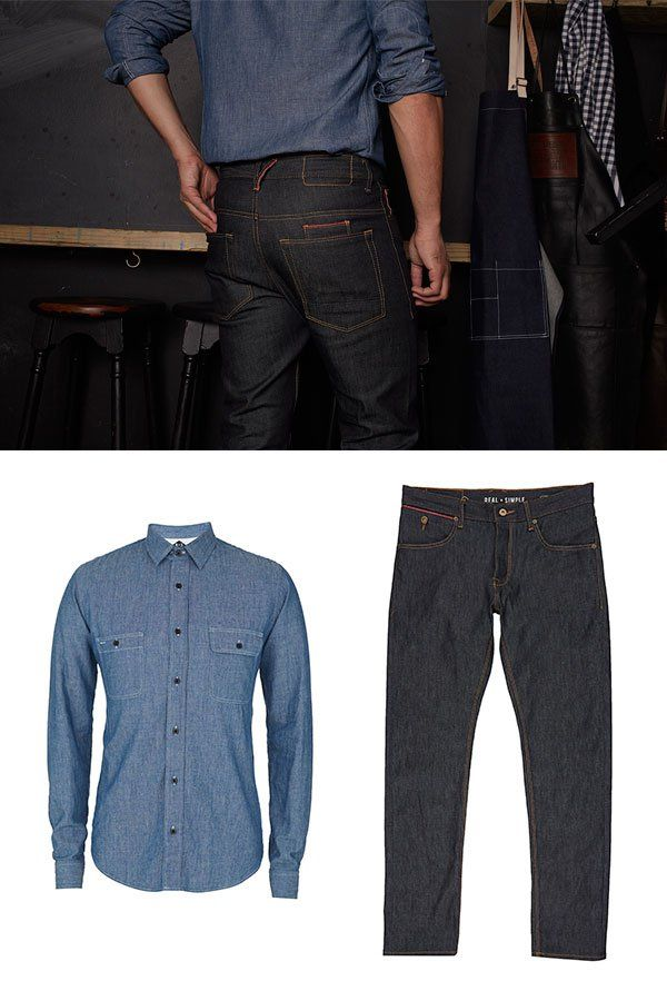 jeans cut, made and machined right here in Cape Town