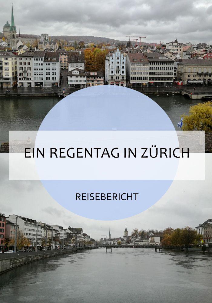 Was kann man in Zürich bei Regen so tun? Spazieren gehen in der Altstadt zum Beispiel! Und zwischendurch in die Kirchen und Museen einkehren. Eine geeigete Tour beschreibe ich euch im Artikel!