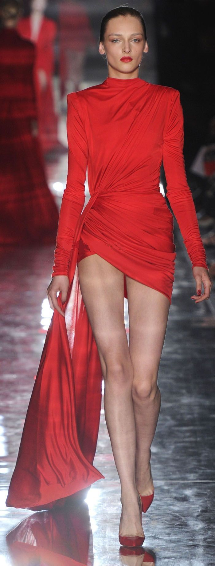 Alexandre Vauthier 2016's sexy little red dress. I'm loving just about everything about this look!