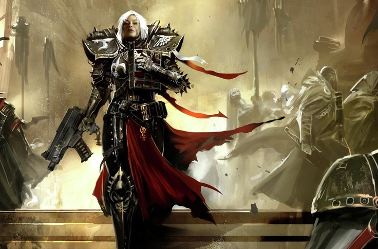 Warhammer 40k Inquisitor.