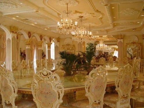Elegant Gold Dining RoomsDining TablesShahrukh KhanZimbabweHouse