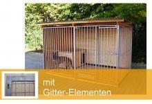 """Gitter-Hundezwinger, 2-seitig geschlossen, """"Home"""""""