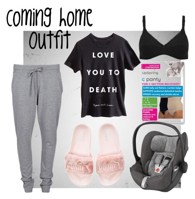 """Coming home"" by mommytrends on Polyvore featuring VILA, Naturana, Baby, mom, Hospital and prego"