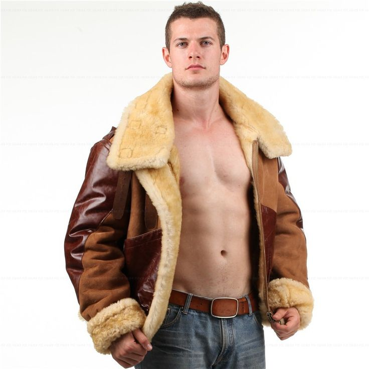 17 best ideas about Sheepskin Jacket Mens on Pinterest | Men with ...