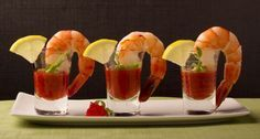 Mini Prawn Cocktails with Marie Rose Sauce - The Lady Bloggers