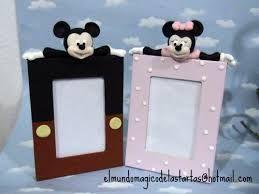 Resultado de imagen para como decorar porta retratos con porcelana fria