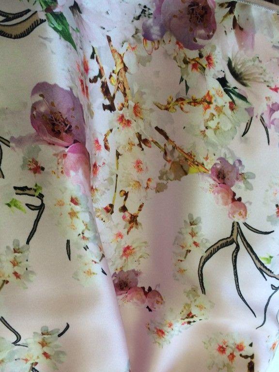 Printed silky sleeveless dress in a peach floral design (Model 6119)  http://lesy.it/boutique/en/dresses/134-printed-silky-sleeveless-dress-in-a-peach-floral-design.html  Abito smanicato in raso stampato, con disegno di fiori di pesco (Modello 6119)  #lesy #ss15 #luxury #madeinitaly #fashion #florence #cutekidsfashion #couteredress #glamour #fashionlife #kidsclothes #kidscollection #wedding