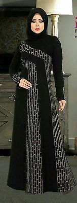 Dubai Kaftan Black Abaya Jalabiya Dress New Very Fancy Silk Wedding Caftan | Clothing, Shoes & Accessories, Women's Clothing, Dresses | eBay!