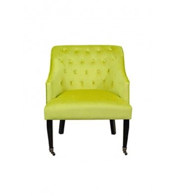 Hollingberry Armchair Lime