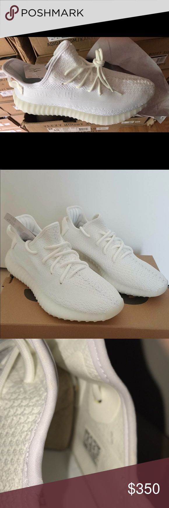 Adidas Yeezy Boost V2 Cream White Cream white Men Sizes 10-11s Price is Negotiable if buying more then 1 pair Aslo have Zebra Blue and Zebra Blk n wht. Belugas aslo in stock. All prices the same. Yeezy Shoes Athletic Shoes