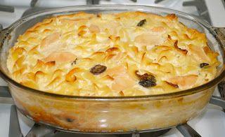 Невыразимая легкость кулинарного бытия...: Кугель с творогом и яблоками