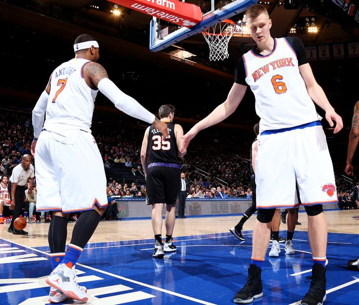 Carmelo Anthony and Kristaps Porzingis staying put, says Knicks...: Carmelo  Anthony. Sports BasketballNew York ...