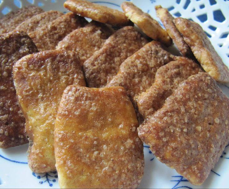 Rezept Zimtzucker-Knusperli von sabri - Rezept der Kategorie Backen süß