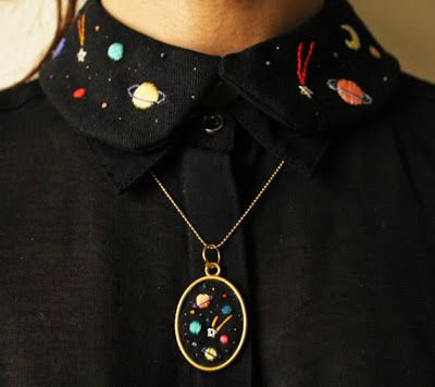 Deshilachado, embroidery
