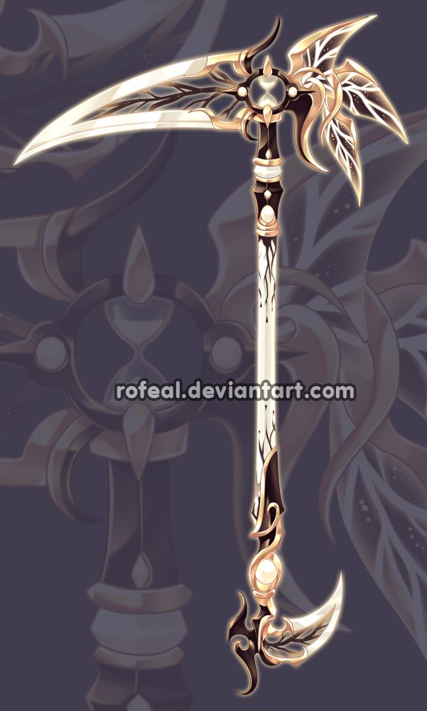 A custom weapon commission for BunMuffin Thank you for commissioning meInterested in getting your own custom weapon ?You can find out morehere. Some other of my adopts.