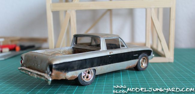 62 Ford Ranchero Beater 1 25 Scale From Amt With Images Toy