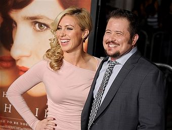 Chaz Bono arrives at the premiere of Focus Features' 'The Danish Girl' at Westwood Village Theatre on November 21, 2015 in Westwood, California.