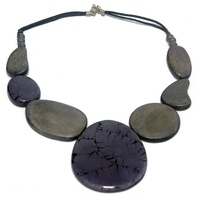 Vivid Jewellery - Lexi Necklace Grey