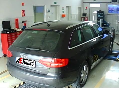 Audi A4 2.0 CR TDI 143LE Chiptuning fékpadi optimalizálás