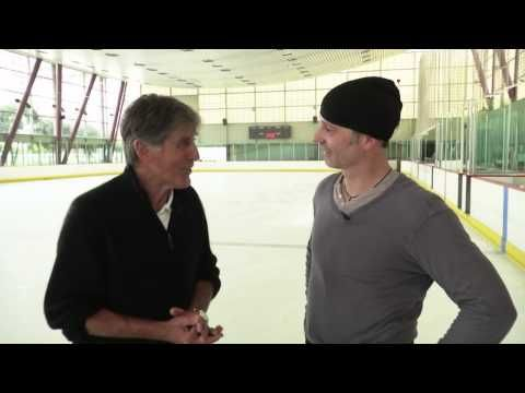 Ice Skating Legend Richard Dwyer '74 skates with Olympic Champion Brian Boitono - YouTube/2013