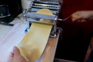 How to Make Homemade Pasta with a Pasta Machine: A 10-Step Photo Tutorial: Form the Sheet of Pasta