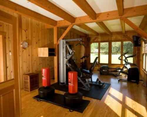 1000 id es sur le th me salle de gym a la maison sur pinterest salle de gym d coration de. Black Bedroom Furniture Sets. Home Design Ideas