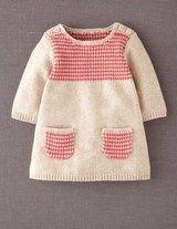 Boden | Stripy Knitted Dress