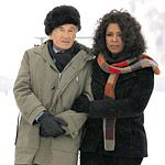 Oprah and Elie Wiesel Travel to Auschwitz