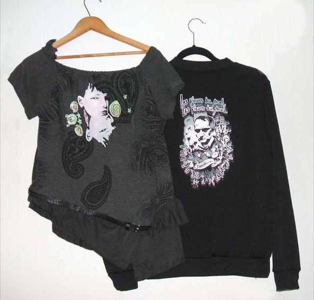 TerreDada Tees: Sérigraphie et peinture sur T-Shirt maison. Screen printing, diy, t-shirt, repurposing, eco, fashion.