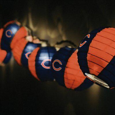 Chicago Bears Team Lanterns & Lights Set