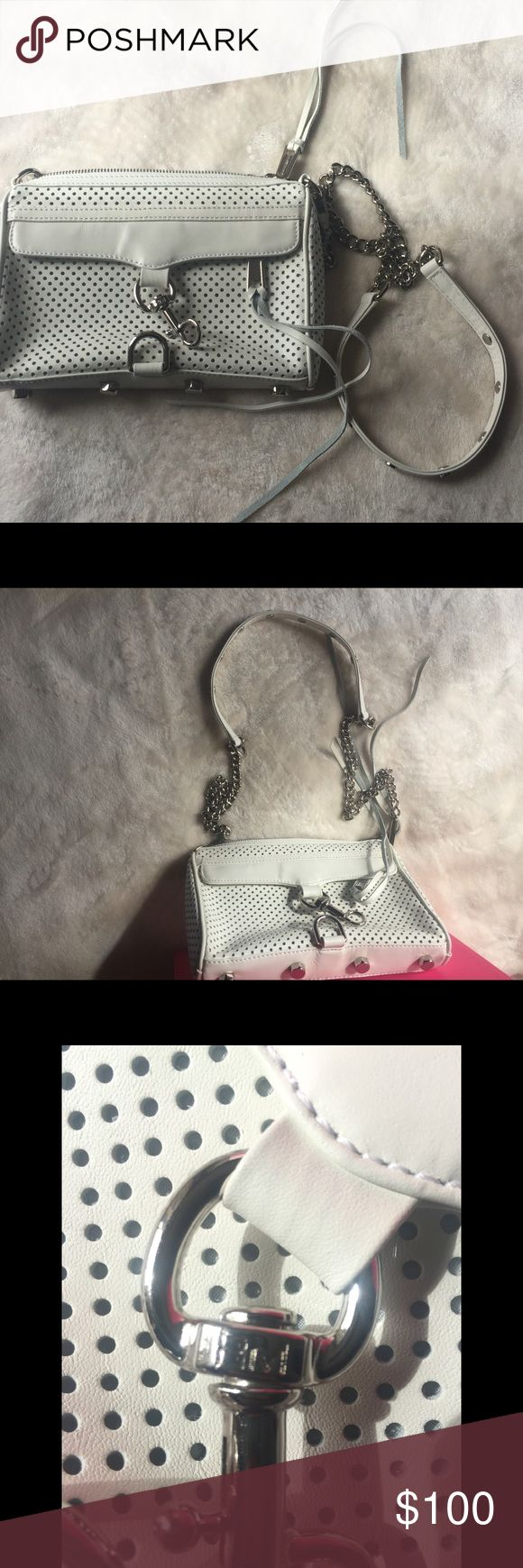 REBECCA MINKOFF CROSSBODY BAG VERY STYLISH, CUTE AND GIRLY CROSSBODY BAG ( NWOT) FEEL FREE TO ASK ANY QUESTIONS! Rebecca Minkoff Bags Crossbody Bags